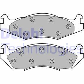 Bremsbelagsatz, Scheibenbremse Höhe 2: 55mm, Höhe: 55mm, Dicke/Stärke 1: 15mm, Dicke/Stärke 2: 15mm mit OEM-Nummer 21820