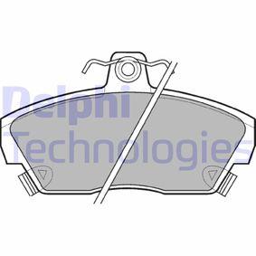 Bremsbelagsatz, Scheibenbremse Höhe 2: 65mm, Höhe: 65mm, Dicke/Stärke 1: 18mm, Dicke/Stärke 2: 18mm mit OEM-Nummer GBP 90314