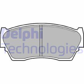 Bremsbelagsatz, Scheibenbremse Höhe: 47mm, Dicke/Stärke 2: 16mm mit OEM-Nummer 4106062C90
