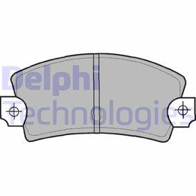 Bremsbelagsatz, Scheibenbremse Breite 1: 109mm, Breite 2: 109mm, Höhe 1: 48mm, Höhe 2: 48mm, Dicke/Stärke 1: 12mm, Dicke/Stärke 2: 12mm mit OEM-Nummer 793.485