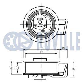 RUVILLE Trag-/Führungsgelenk 915420 für AUDI 80 (81, 85, B2) 1.8 GTE quattro (85Q) ab Baujahr 03.1985, 110 PS