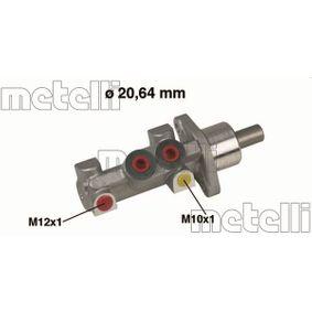Hauptbremszylinder 05-0420 CLIO 2 (BB0/1/2, CB0/1/2) 1.5 dCi Bj 2006