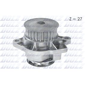 Pompa acqua (A189) per per Pompa Acqua VW POLO (6N2) 1.4 dal Anno 10.1999 60 CV di DOLZ