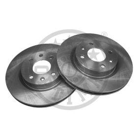 Bremsscheibe Bremsscheibendicke: 20,6mm, Ø: 259mm mit OEM-Nummer 7701 205 828
