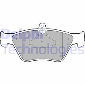 Bremsbelagsatz, Scheibenbremse Höhe 2: 61mm, Höhe: 71mm, Dicke/Stärke 2: 18mm mit OEM-Nummer 90 44 3873
