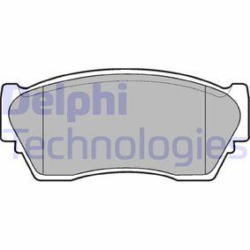 Bremsbelagsatz, Scheibenbremse Höhe: 48mm, Dicke/Stärke 2: 16mm mit OEM-Nummer 41060 63C90