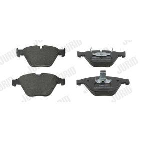 Bremsbelagsatz, Scheibenbremse Höhe 1: 68mm, Dicke/Stärke: 20,3mm mit OEM-Nummer 34116794916