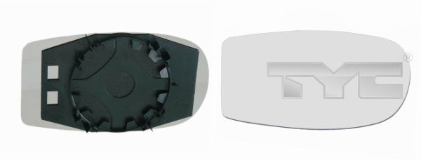 TYC  309-0023-1 Verre de rétroviseur, rétroviseur extérieur