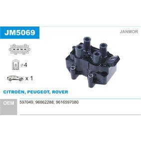 Запалителна бобина JM5069 800 (XS) 2.0 I/SI Г.П. 1995