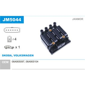 JANMOR  JM5044 Zündspule