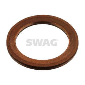 Seal, oil drain plug Ø: 17,0mm, Thickness: 1,5mm, Inner Diameter: 12,0mm with OEM Number 007603 012110