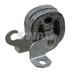 SWAG Halter, Abgasanlage 32 92 2968 für AUDI A4 Cabriolet (8H7, B6, 8HE, B7) 3.2 FSI ab Baujahr 01.2006, 255 PS
