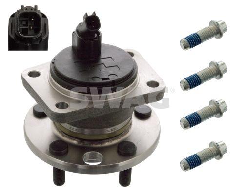 SWAG  50 91 9983 Wheel Bearing Kit Ø: 136,0mm, Inner Diameter: 31,0mm
