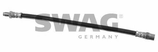SWAG  55 92 2428 Bremsschlauch Länge: 320mm, Innengewinde: M10 x 1mm, Außengewinde: M10 x 1mm