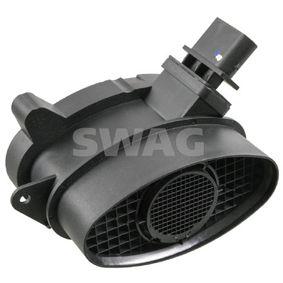 Sistema Eléctrico del Motor BMW X5 (E70) 3.0 d de Año 02.2007 235 CV: Medidor de la masa de aire (20 92 9476) para de SWAG