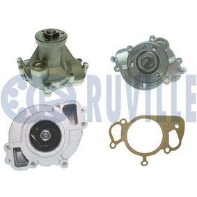 RUVILLE Wasserpumpe 65415 für AUDI 90 (89, 89Q, 8A, B3) 2.2 E quattro ab Baujahr 04.1987, 136 PS