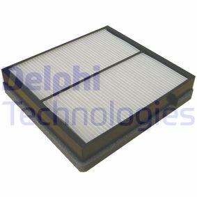 Filter, Innenraumluft Länge: 226mm, Breite: 204mm, Höhe: 40mm mit OEM-Nummer 163 835 02 47