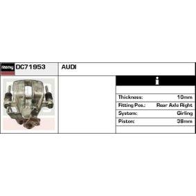 DELCO REMY Bremssattel DC71953 für AUDI 80 (8C, B4) 2.8 quattro ab Baujahr 09.1991, 174 PS