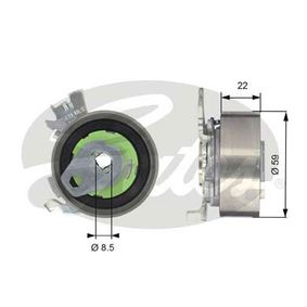 Tensioner Pulley, timing belt Article № T43060 £ 140,00