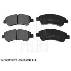 Brake Pad Set, disc brake Width: 51,0mm, Thickness 1: 17,8mm with OEM Number E172124