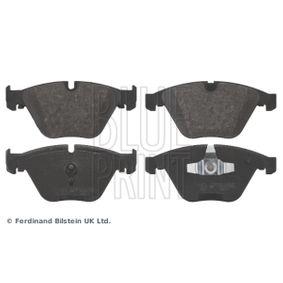 Bremsbelagsatz, Scheibenbremse Breite: 68,4mm, Dicke/Stärke 1: 19mm mit OEM-Nummer 3411 6 775 314
