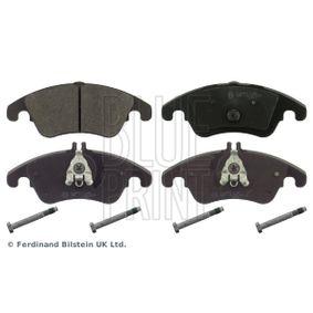 Brake Pad Set, disc brake ADU174201 E-Class Saloon (W212) E 350 3.5 4-matic (212.088) MY 2014