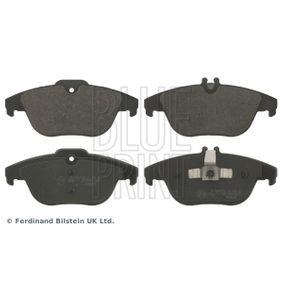 2012 Mercedes W204 C 200 CDI 2.2 (204.001) Brake Pad Set, disc brake ADU174204