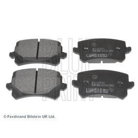 Bremsbelagsatz, Scheibenbremse Breite: 56,4mm, Dicke/Stärke 1: 17mm mit OEM-Nummer JZW 698 451G