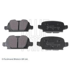 Bremsbelagsatz, Scheibenbremse Breite: 43,8mm, Dicke/Stärke 1: 13,7mm mit OEM-Nummer 92 001 32