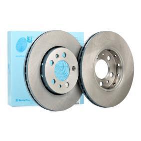 Bremsscheibe Bremsscheibendicke: 22mm, Ø: 256,0mm mit OEM-Nummer JZW 615 301N
