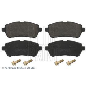 Bremsbelagsatz, Scheibenbremse Höhe: 51,7mm, Dicke/Stärke 1: 16,8mm mit OEM-Nummer 24285