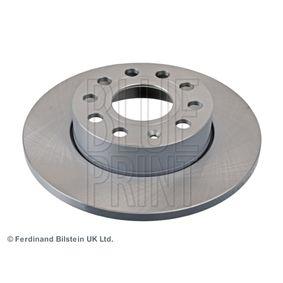 Bremsscheibe Bremsscheibendicke: 12mm, Ø: 260,0mm mit OEM-Nummer 1K0.615.601L