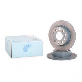 Bremsscheibe Bremsscheibendicke: 10mm, Ø: 255,0mm mit OEM-Nummer 1K0615601AB