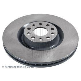 Спирачен диск дебелина на спирачния диск: 30мм, Ø: 345,0мм с ОЕМ-номер 1K0615301AB
