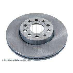 Bremsscheibe Bremsscheibendicke: 25mm, Lochanzahl: 5, Ø: 288,0mm mit OEM-Nummer 1K0615301K