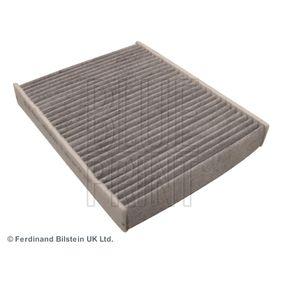 Filter, Innenraumluft Länge: 240mm, Breite: 190,0mm, Höhe: 35mm mit OEM-Nummer 1204 464