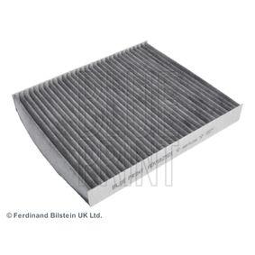 Filter, Innenraumluft Länge: 248mm, Breite: 216,0mm, Höhe: 30mm mit OEM-Nummer 6Q0 819 653