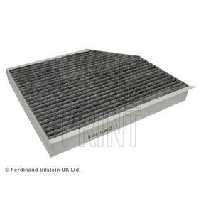 Filter, Innenraumluft Länge: 280mm, Breite: 240,0mm, Höhe: 34,5mm mit OEM-Nummer 8K0819439A