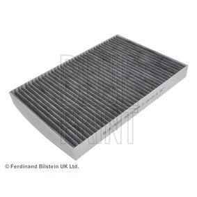 Filter, Innenraumluft Länge: 300mm, Breite: 205,0mm, Höhe: 30mm mit OEM-Nummer 8E0819439C