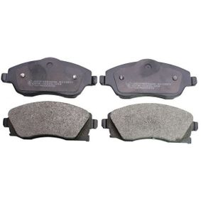 Bremsbelagsatz, Scheibenbremse Höhe: 52,8mm, Dicke/Stärke: 16mm mit OEM-Nummer 16 050 92