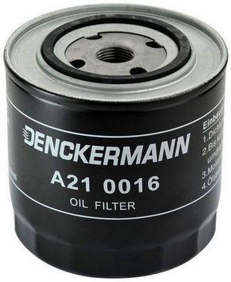 DENCKERMANN  A210016 Ölfilter Innendurchmesser 2: 71mm, Innendurchmesser 2: 62mm, Höhe: 121mm