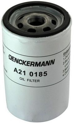 DENCKERMANN  A210185 Ölfilter Innendurchmesser 2: 72mm, Innendurchmesser 2: 63mm, Höhe: 121mm