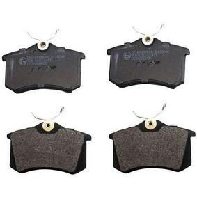 Jogo de pastilhas para travão de disco Altura: 52,8mm, Espessura: 16,8mm com códigos OEM 4251.08