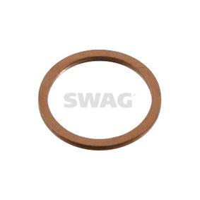 SWAG  20 93 1703 Seal, oil drain plug Ø: 22,0mm, Thickness: 1,4mm, Inner Diameter: 18,0mm