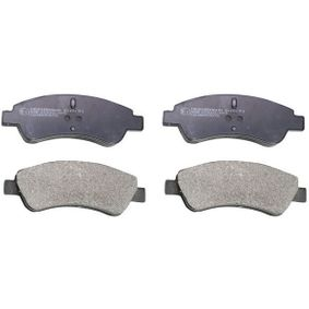 Brake Pad Set, disc brake Height: 49mm, Thickness: 18,2mm with OEM Number 42.5341
