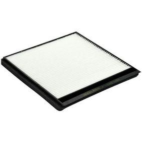 Filter, Innenraumluft Länge: 207mm, Breite: 218mm, Höhe: 19mm mit OEM-Nummer 6447-Z4