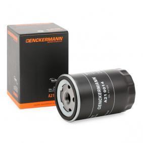 Ölfilter Innendurchmesser 2: 72mm, Innendurchmesser 2: 63mm, Höhe: 121mm mit OEM-Nummer YF091-43-02A