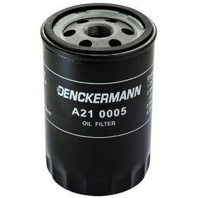 DENCKERMANN  A210005 Ölfilter Innendurchmesser 2: 71mm, Innendurchmesser 2: 62mm, Höhe: 123mm