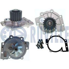 RUVILLE Wasserpumpe 65440 für AUDI 90 (89, 89Q, 8A, B3) 2.2 E quattro ab Baujahr 04.1987, 136 PS