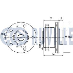 Timing Belt Set with OEM Number 2481027200